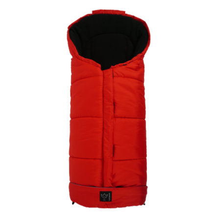 Kaiser Fußsack Iglu Thermo Fleece rot