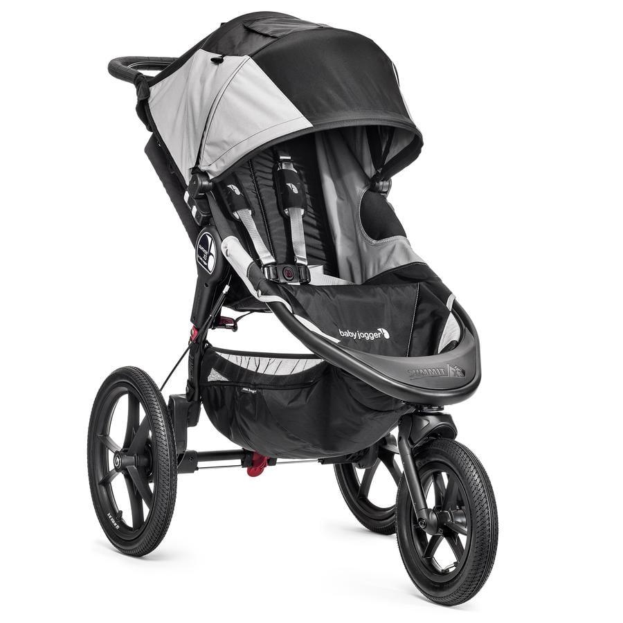 Baby Jogger Sittvagn Summit X3 black / grey
