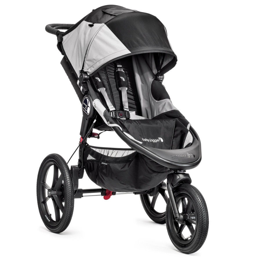 Baby Jogger Sportwagen Summit X3 black / gray