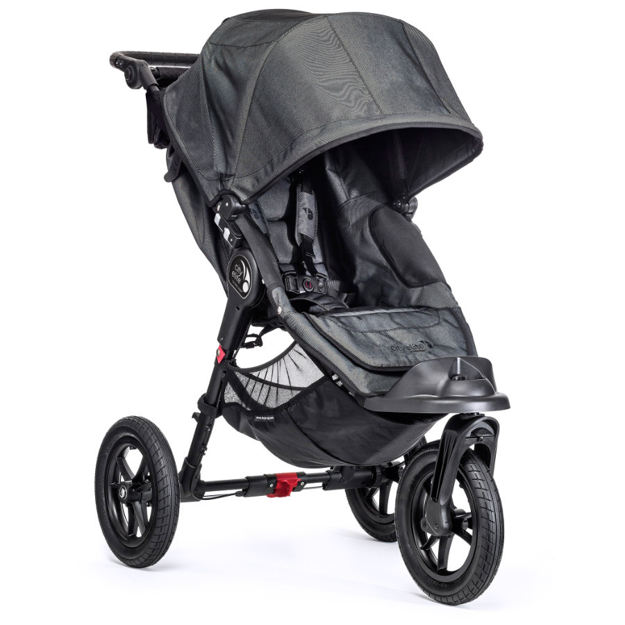 Baby Jogger Wózek spacerowy City Elite black denim