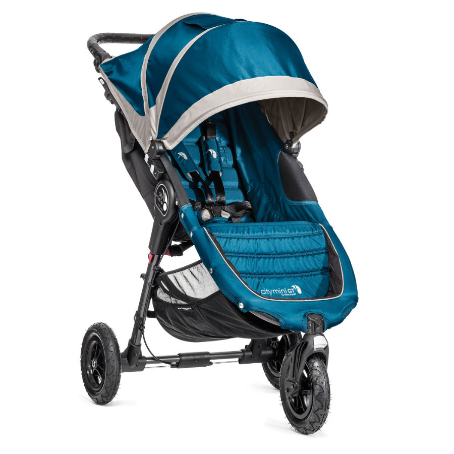 baby jogger Poussette 3 roues City Mini GT, teal/gray