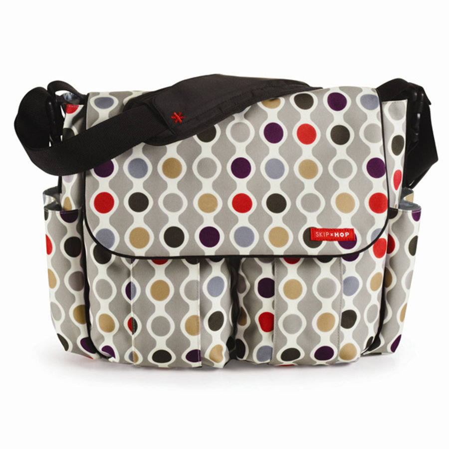 SKIP HOP Sac à langer Dash, Wave Dot