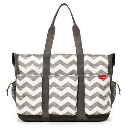 SKIP HOP Double Duo Deluxe Wickeltasche Chevron