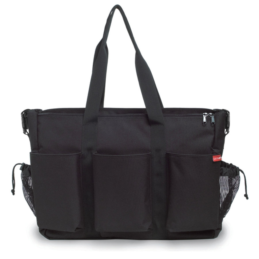 SKIP HOP Double Duo Deluxe Wickeltasche Black