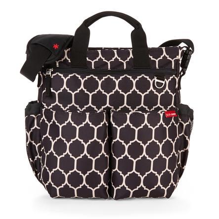 SKIP HOP Duo Deluxe Přebalovací taška Signature Onyx Tile
