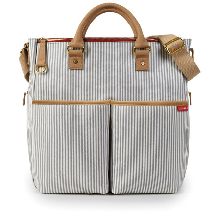 SKIP HOP Duo Deluxe Wickeltasche French Stripes