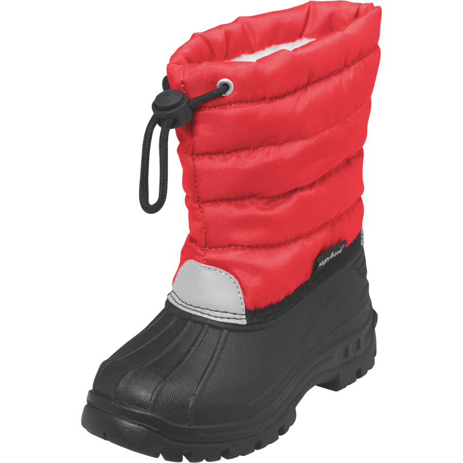 PLAYSHOES Boys Winterstiefel BASIC mit Futter rot
