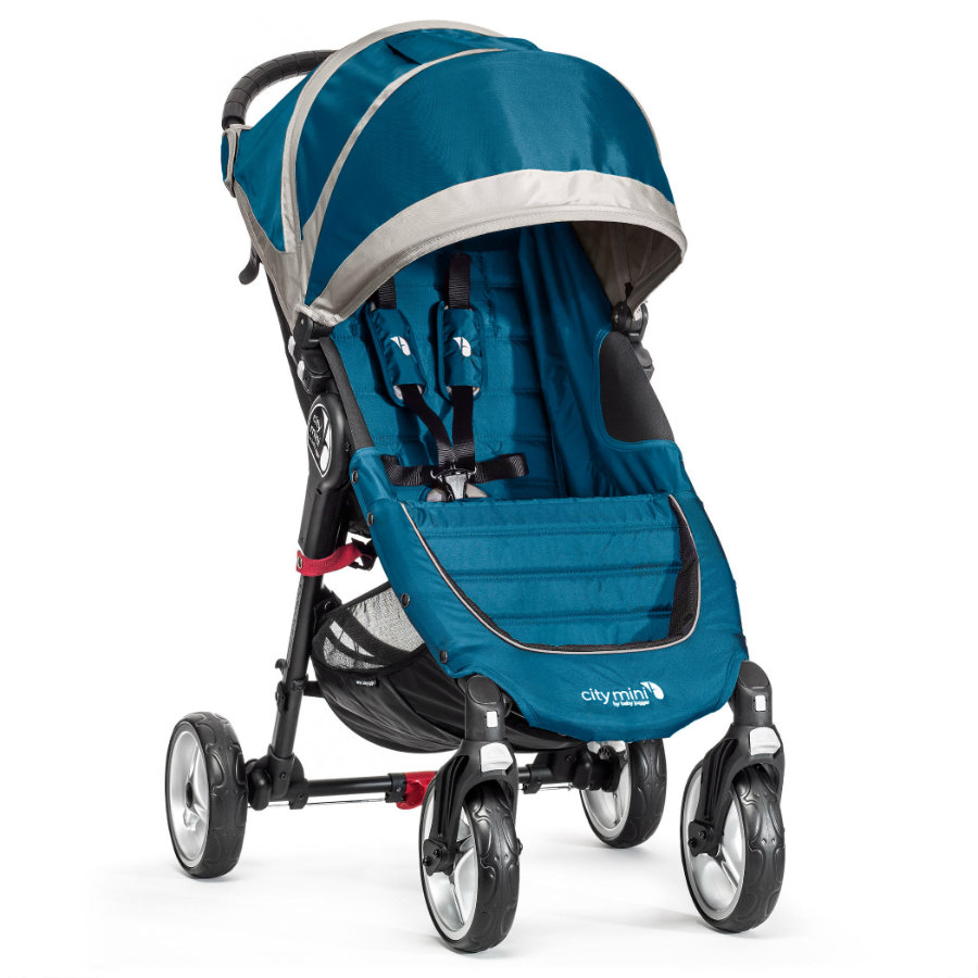 Baby Jogger Sittvagn City Mini 4W teal / gray