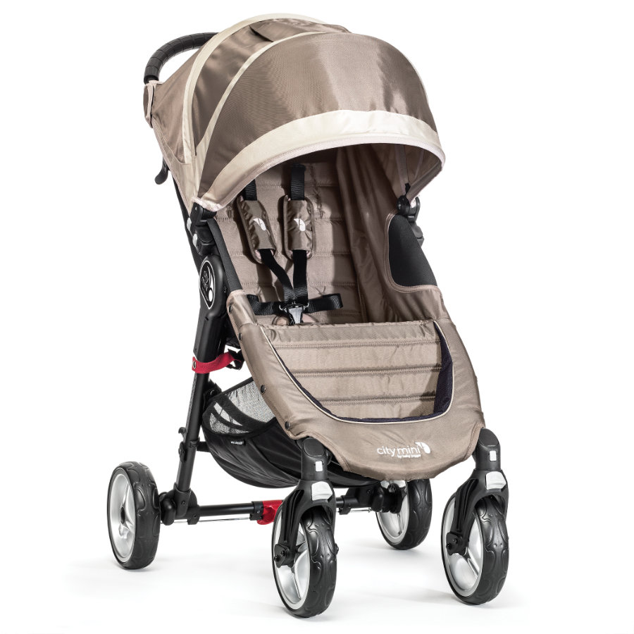 Baby Jogger Buggy City Mini 4 Rad sand / stone