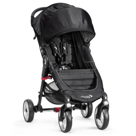 Baby Jogger Sittvagn City Mini 4W black / black