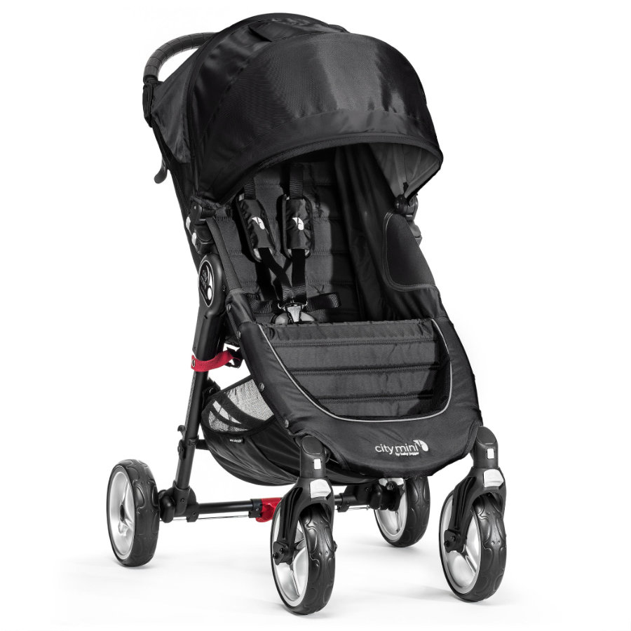 Baby Jogger City Mini 4 kola black 2018