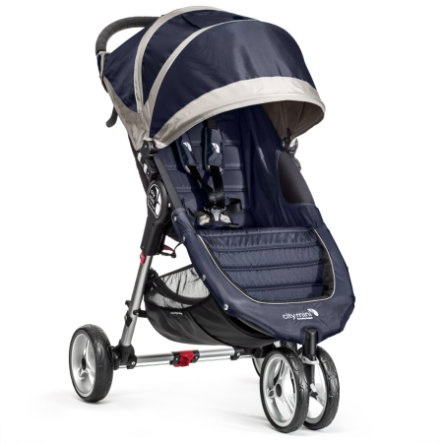 Baby Jogger Buggy City Mini 3-Wheel navy blue / gray