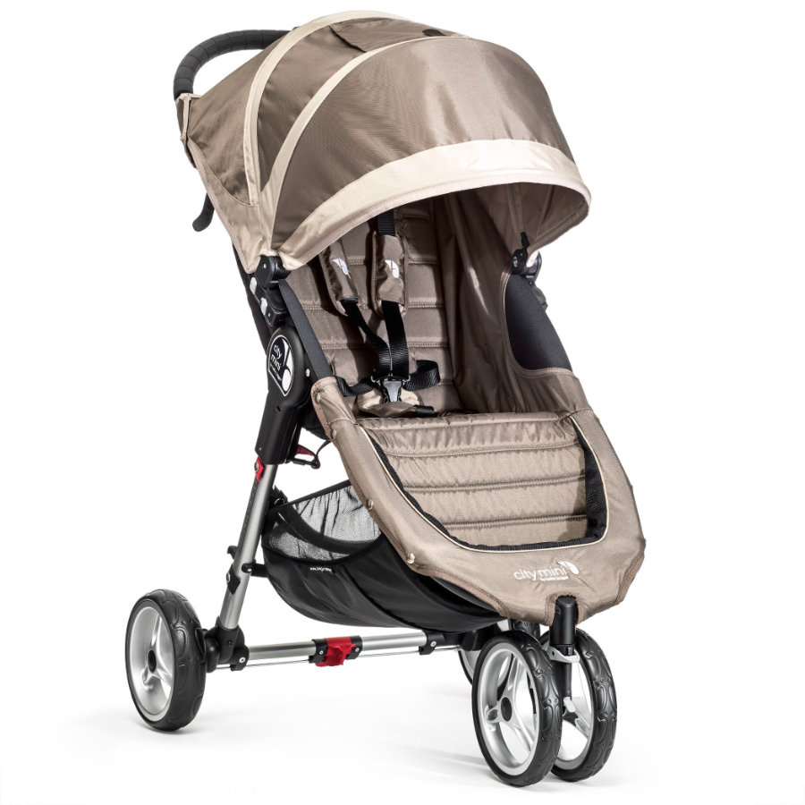 Baby Jogger Sittvagn City Mini 3W sand / stone