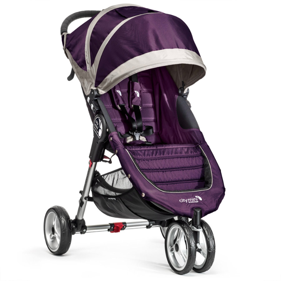 Baby Jogger Sittvagn City Mini 3W purpel / gray