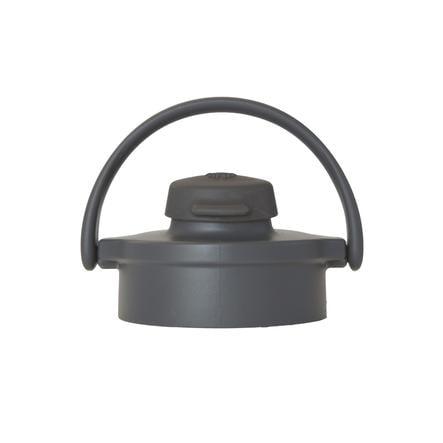 lifefactory flip top cap graphit carbon f r glasflaschen baby. Black Bedroom Furniture Sets. Home Design Ideas