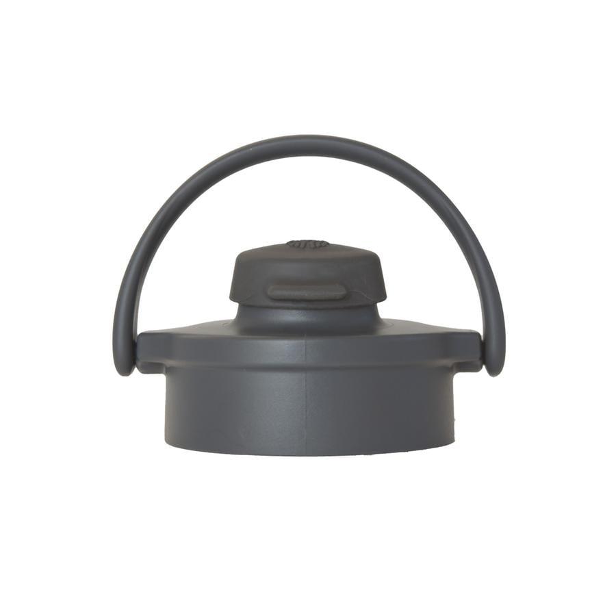 LIFEFACTORY Flip Top Cap graphit/carbon voor glazen flessen