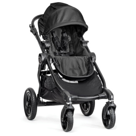 Baby Jogger Sittvagn City Select 4W black
