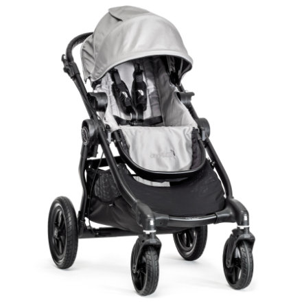 BABY JOGGER Poussette sport City Select 4 roues, silver