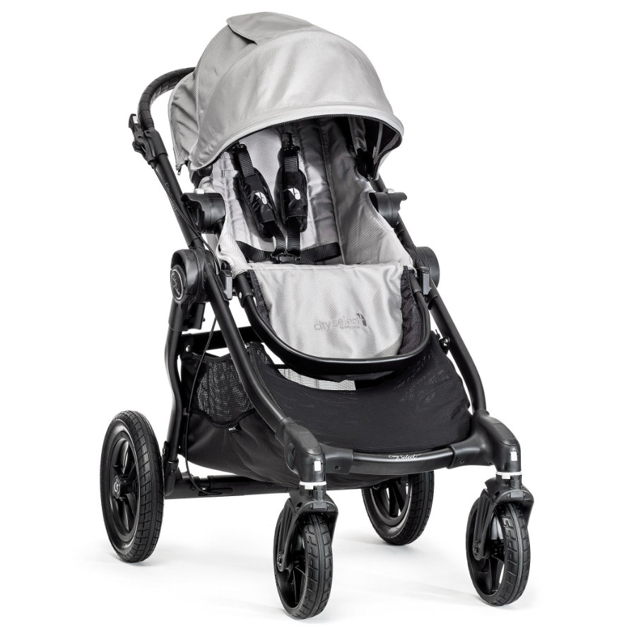 Baby Jogger Sittvagn City Select 4W silver