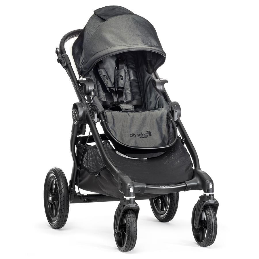 Baby Jogger, Klapvogn City Select, 4 Hjul, Black/Denim