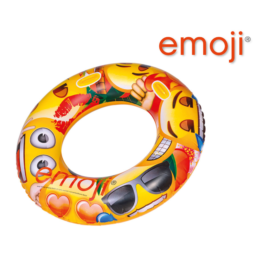 HAPPY PEOPLE emoji® XXL Badring med handtag