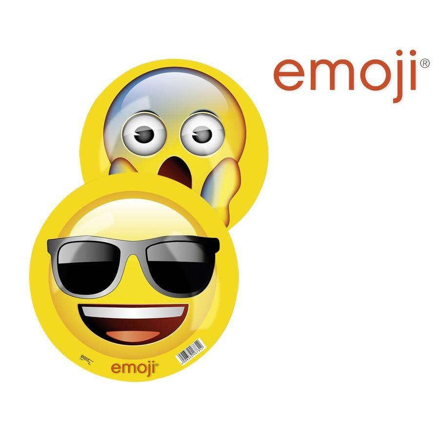 HAPPY PEOPLE emoji® Balles en plastique, 23 cm