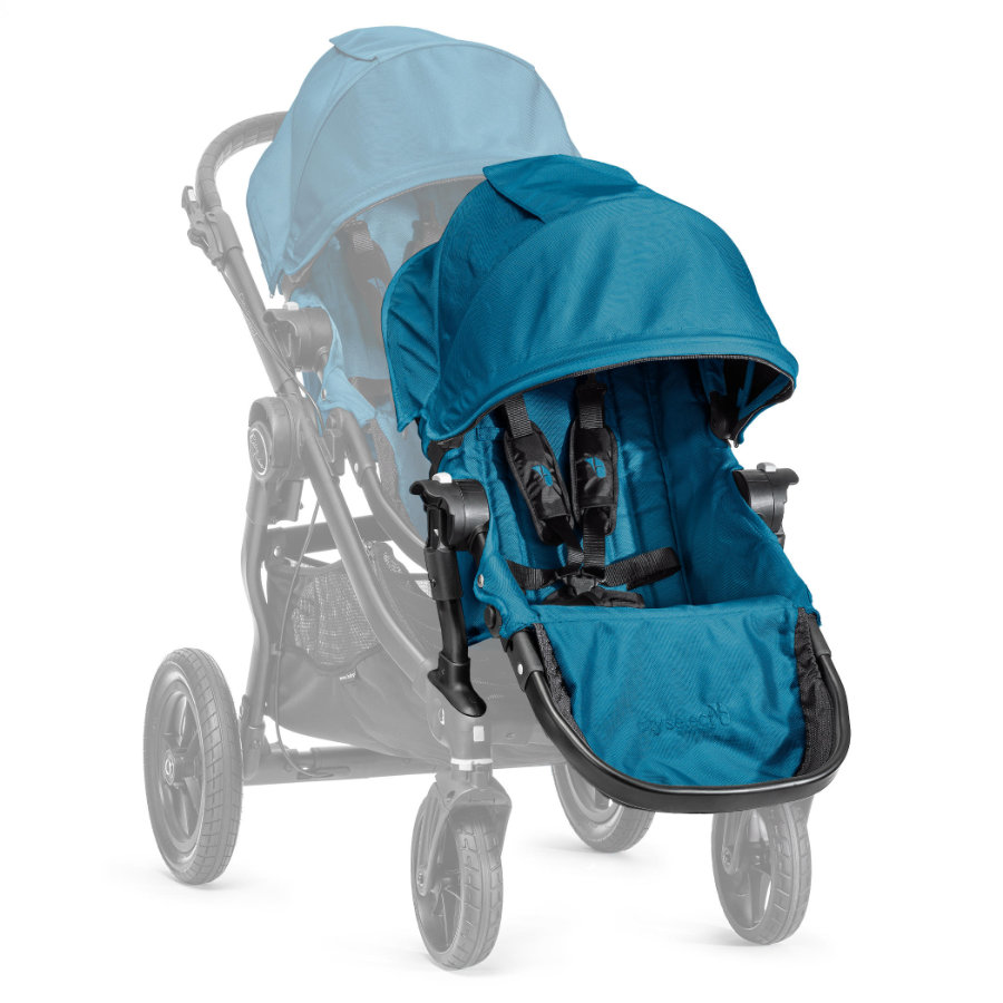 Baby Jogger Syskonsits Select  inklusive adapter till sittvagn, teal