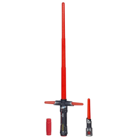 HASBRO Star Wars Episode VII Le Réveil de la Force - Sabre-laser  électronique Deluxe de Kylo Ren