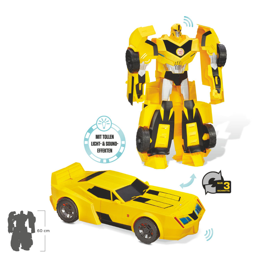 HASBRO Transformers Robots in Disguise - Super Bumblebee 50cm