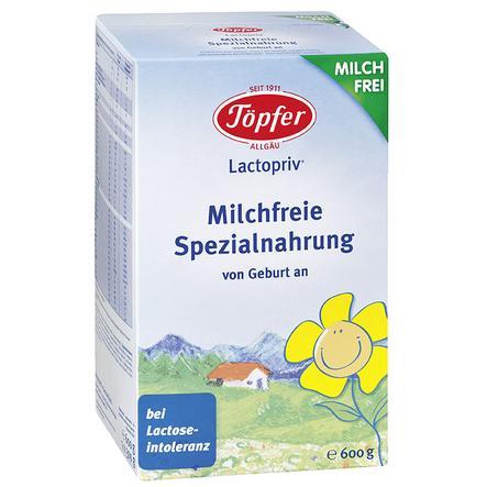 Töpfer Spezialnahrung Lactopriv Milchfrei 600 g