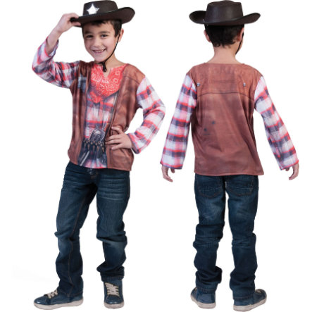 FUNNY FASHION Carnival 3D Shirt Cowboy