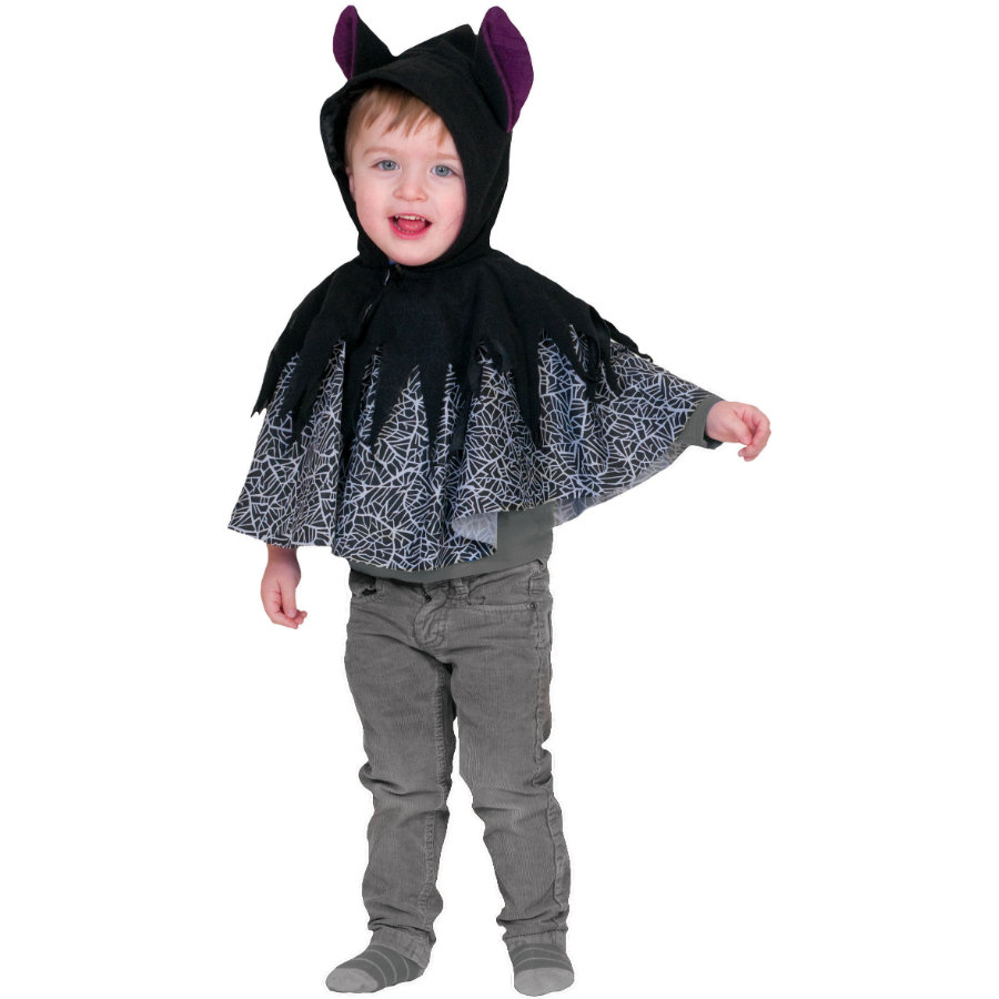 FUNNY FASHION Karneval Kostüm Fledermaus Babycape