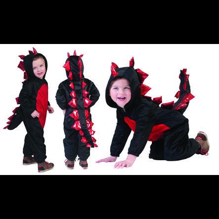 FUNNY FASHION Disfraz de dragón negro
