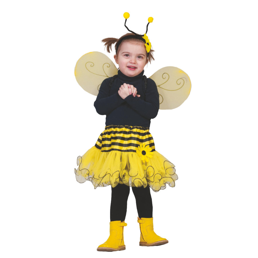 FUNNY FASHION Karneval Baby Bienen Rock