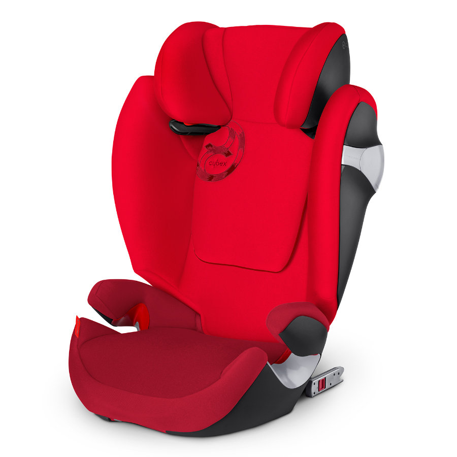CYBEX Turvavyöistuin Solution M-fix, mallisto 2015, Mars Red