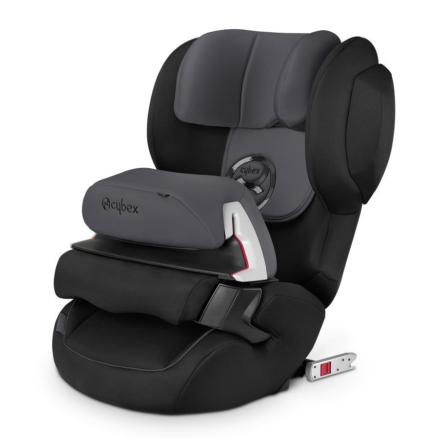 cybex SILVER Kindersitz Juno 2-fix Phantom Grey-dark grey
