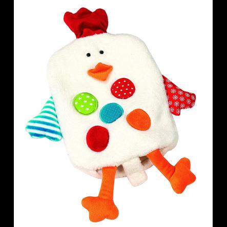 FASHY Wärmflasche und Handpuppe Huhn