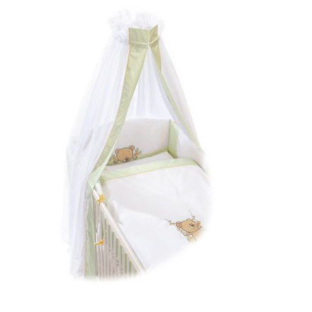 EASY BABY Beddengoed set schommelbeer groen