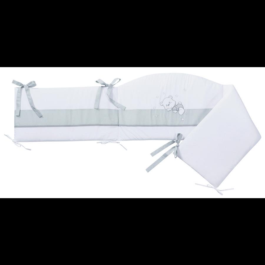 EASY BABY Ochraniacz do łóżeczka 210cm VICHY grey bear
