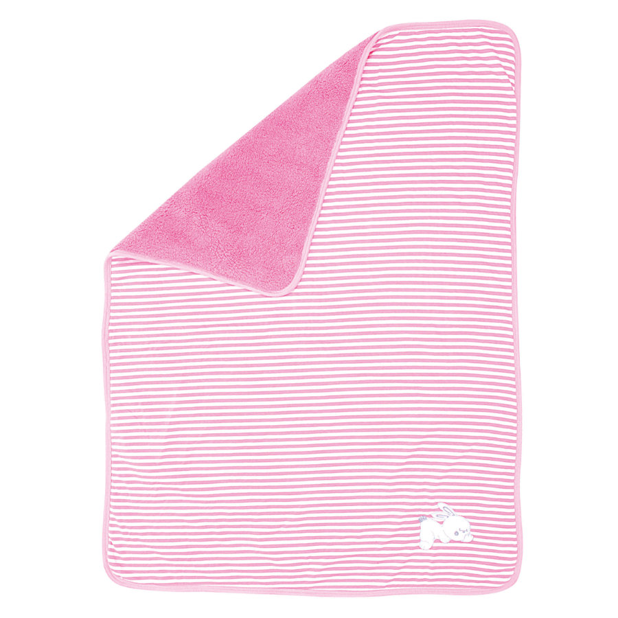 EASY BABY Kinderdecke 75x100cm pink