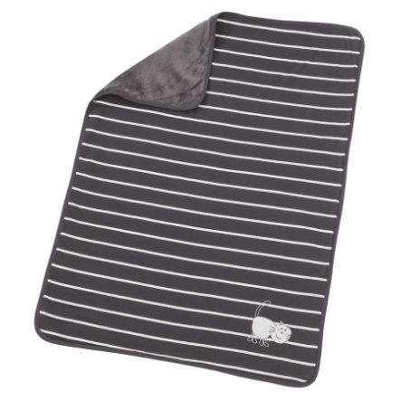 EASY BABY Couverture enfant, anthracite, 75 x 100 cm