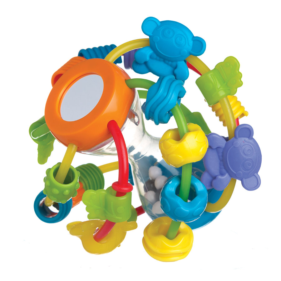 playgro Motorikschleifen-Ball, Play and Learn