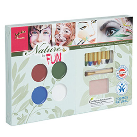 Jofrika Schminke Karneval Natur Make Up Set