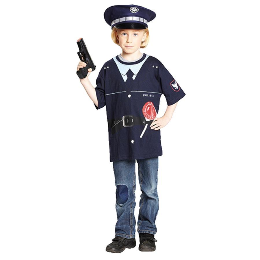 Rubies Kostume Politibetjent T-Shirt