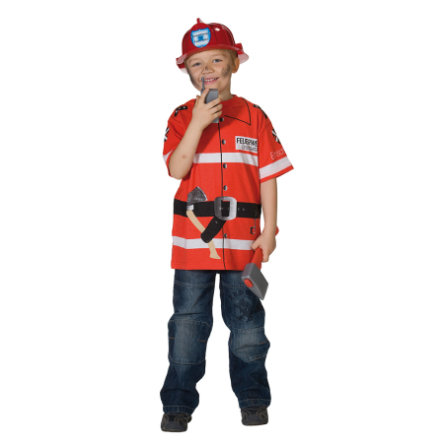 FUNNY FASHION Maglietta da pompiere
