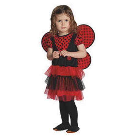 FUNNY FASHION Costume da coccinella