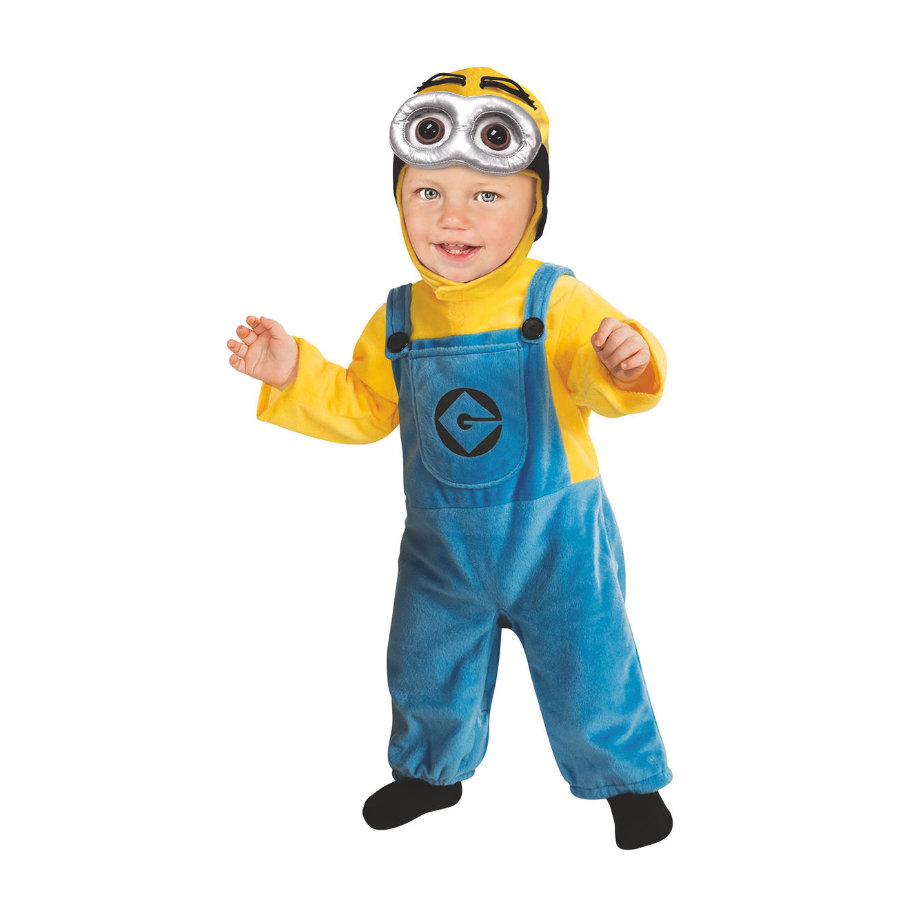 Rubies Costume de Carnaval Les Minions Dave Toddler