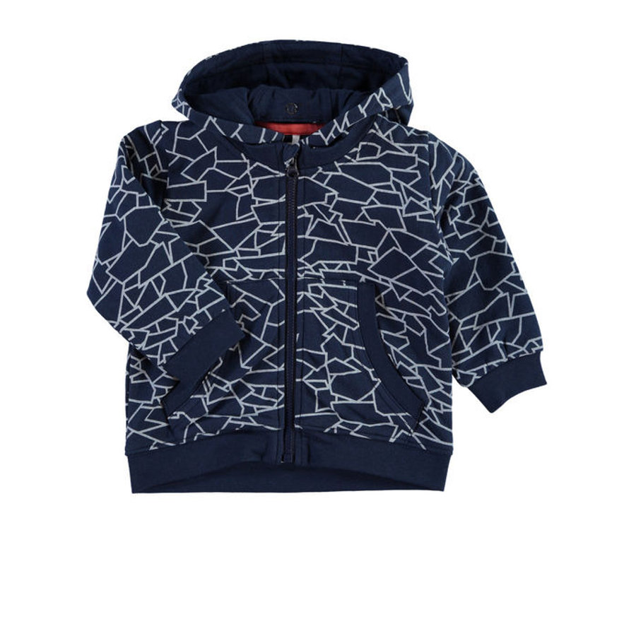 NAME IT Boys Baby Sweatjacke NITNARS dress blues