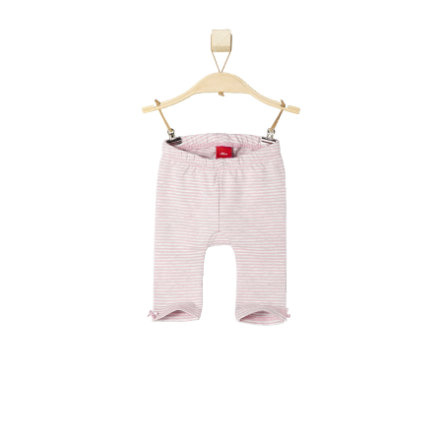 s.OLIVER Girls Baby Leggings pink stripes