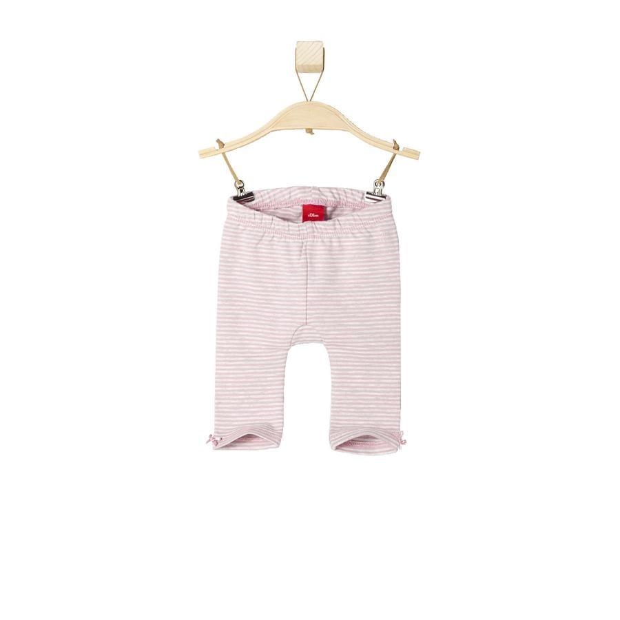 s.OLIVER Girl s Baby legging roze strepen